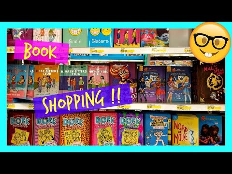 Target Book Shoppping Section  2017