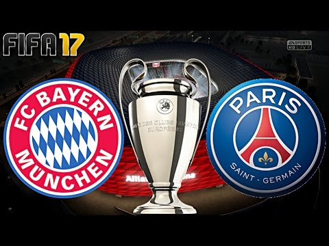 FIFA 17 - FC BAYERN MÜNCHEN vs. PARIS SAINT-GERMAIN   CHAMPIONS LEAGUE ACHTELFINALE ◄FCB #44►