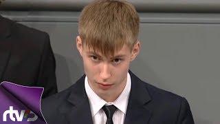 Школьник в Бундестаге — в России скандал