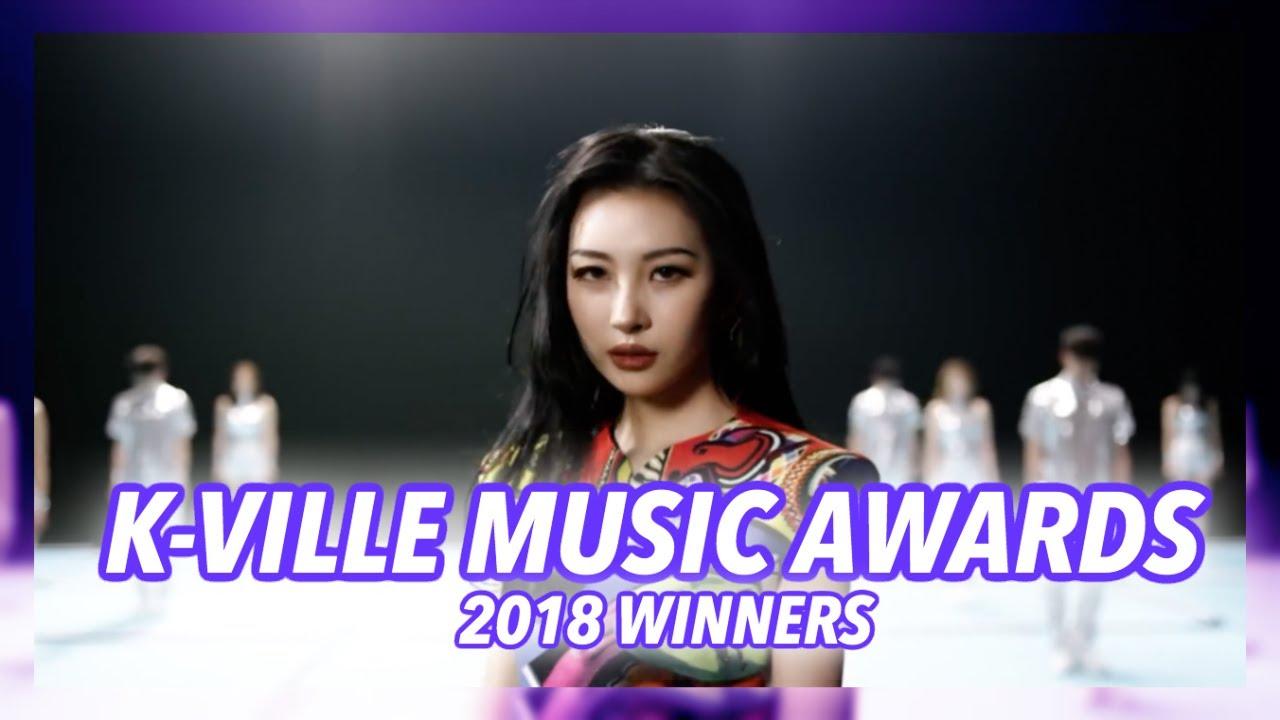 K-VILLE MUSIC AWARDS 2018: THE WINNERS