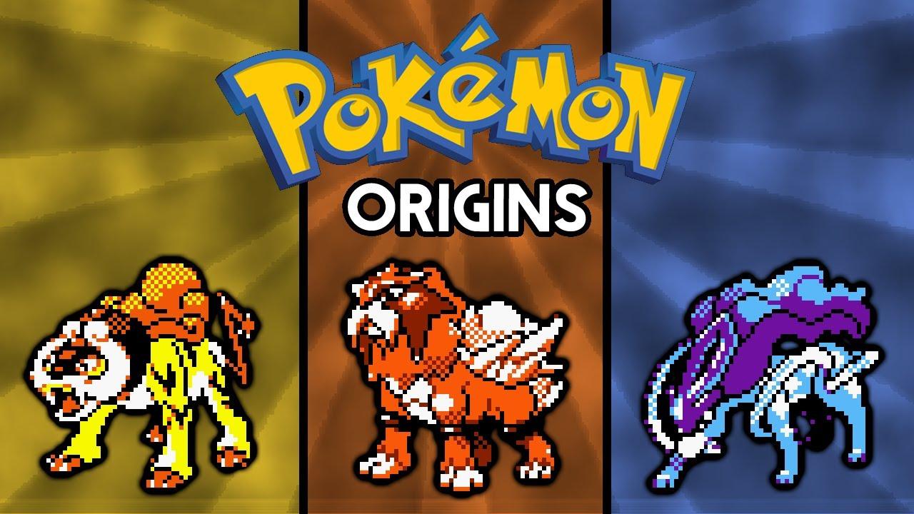 Pokemon Origins Raikou Entei And Suicune Youtube