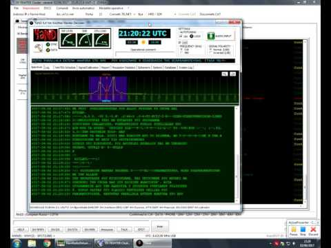 OLYMPIA RADIO: news agency 8423kHz SiTOR-B