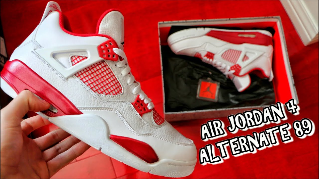 Air Jordan 4 89 Autre Examen Des Associés