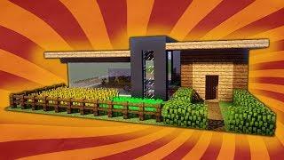 🏠 Kleines und einfaches modernes Haus in Minecraft - leichtes Haus bauen Minecraft