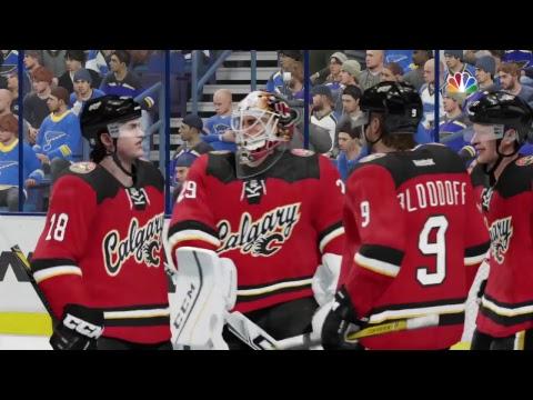 NHL 18 Calgary Flames VS ST.LOUIS BLUES
