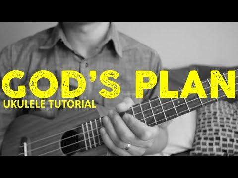 God's Plan - Drake - EASY Ukulele Tutorial - Chords - How To Play
