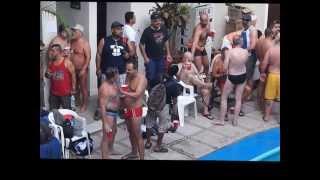 http://www.gaypv.mx Puerto Vallarta Gay Guide at Gay Bears Splash Pool Party Beef Dip 2014