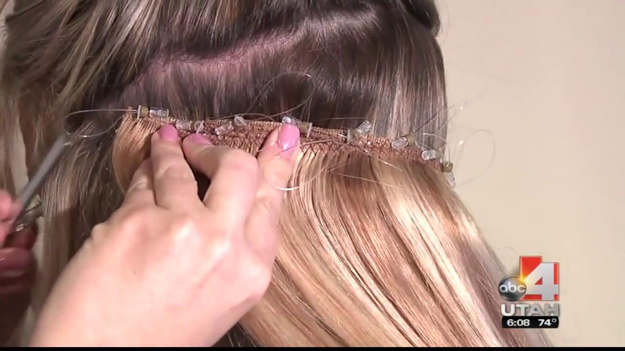 Lockn Long Hair Extensions Utah Abc4 Made4utah Patent Pending