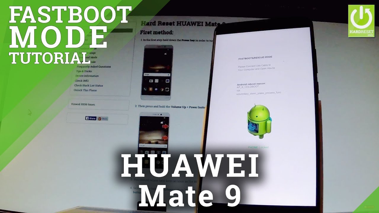 Fastboot Mode HUAWEI Mate 9 - HardReset info