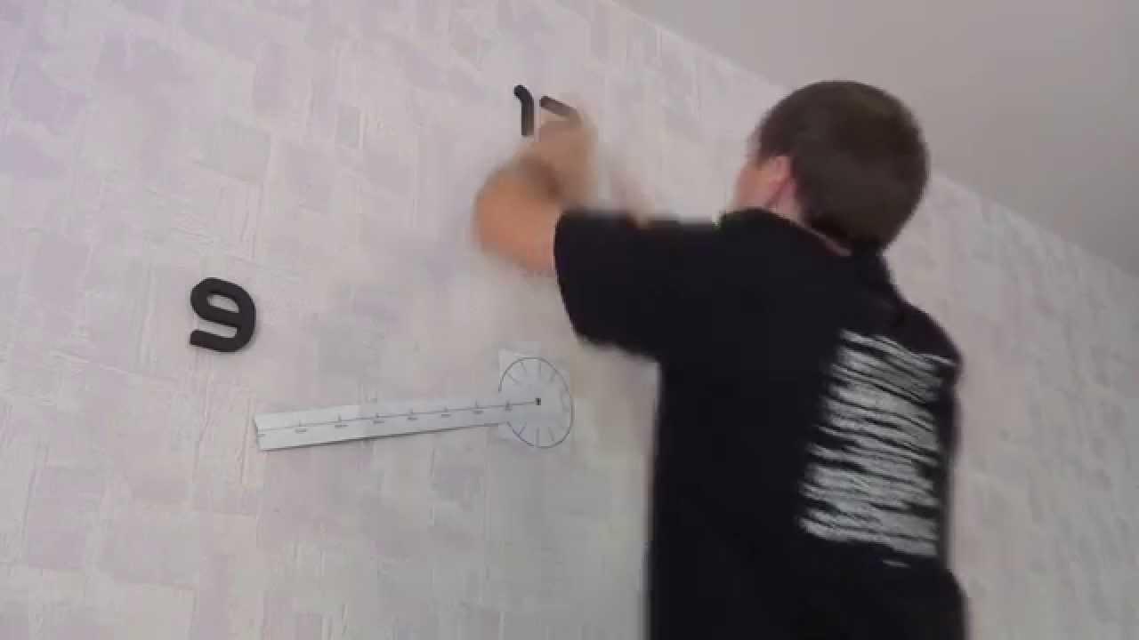 Светодиодные настенные часы Электроника 7 - YouTube