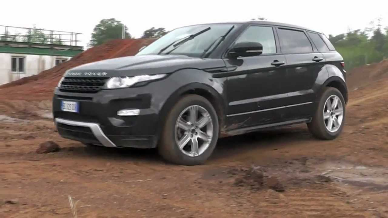range rover evoque prova in fuoristrada off road test youtube. Black Bedroom Furniture Sets. Home Design Ideas