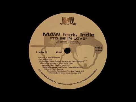 Masters At Work ft India - To Be In Love (Original Mix) MAW Records 1997