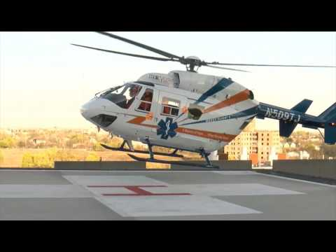 Mercy flight takes to the skies during an ECMC trauma simulation