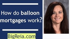 How do balloon mortgages work?  Real estate investors stay away from them, and any other loan.