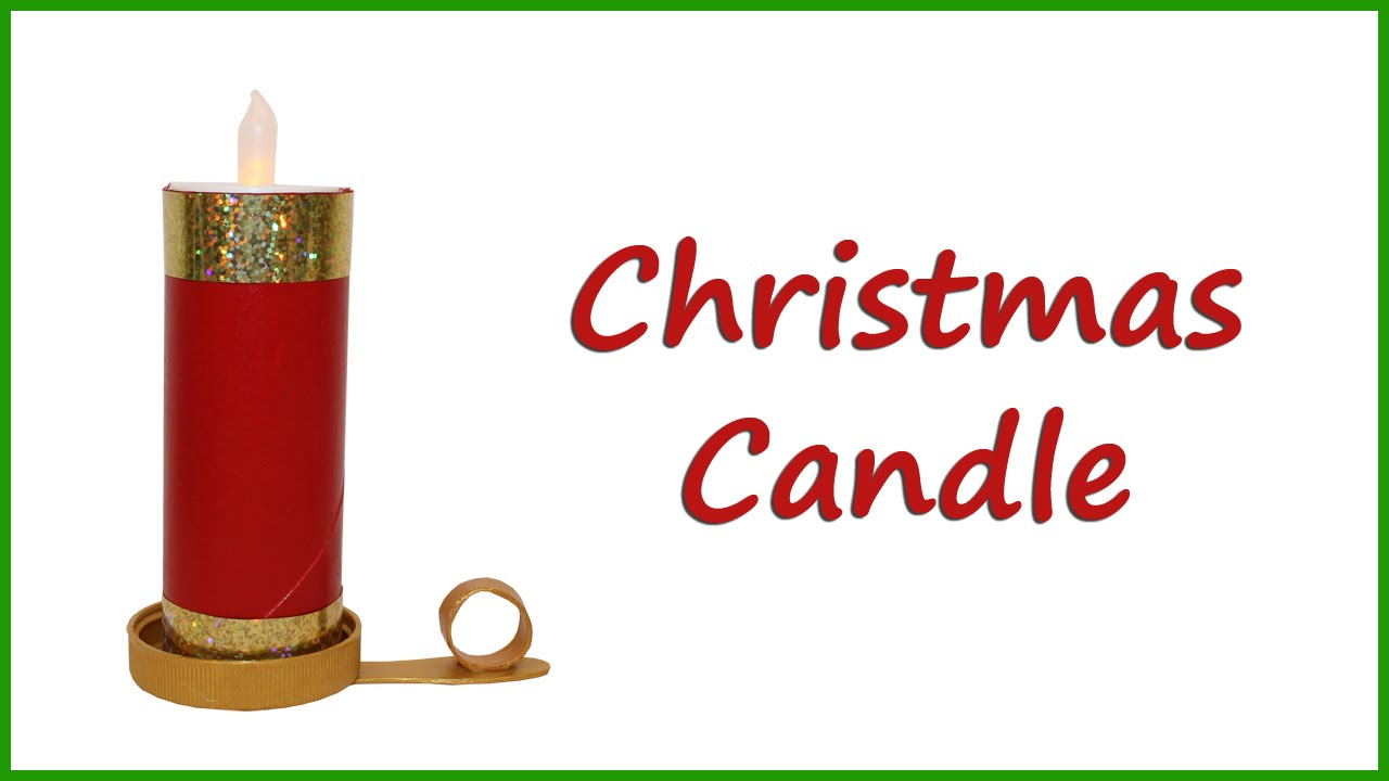 Christmas Candle Craft For Kids