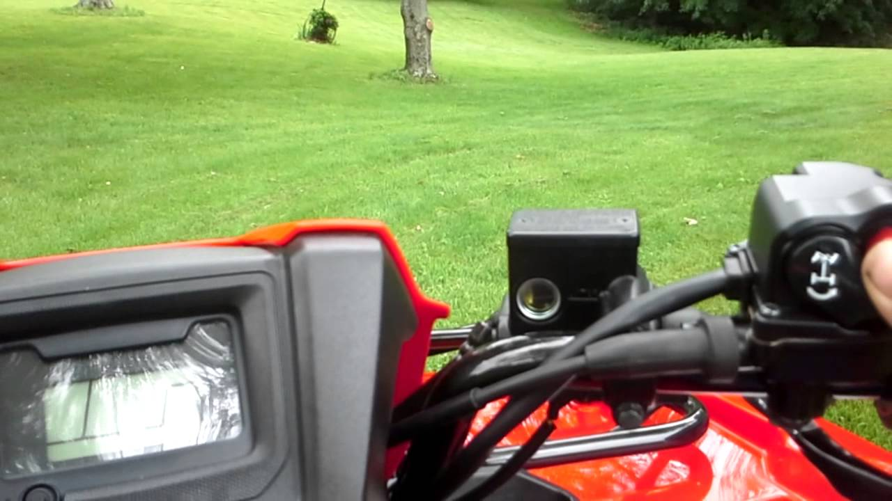 2014 Honda foreman review - YouTube