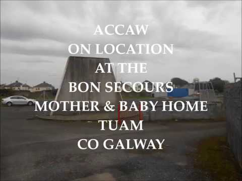 Tuam Mass Grave Site Co.Galway  Bon Secours Mother and Baby Home October 2016