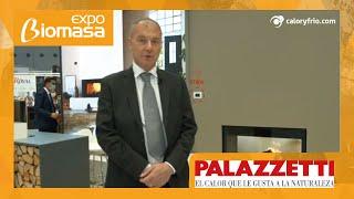 Estufas de pellet Palazzetti en Expobiomasa 2021