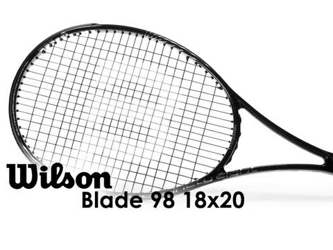 Wilson Blade 98 18x20 Racquet Review - YouTube