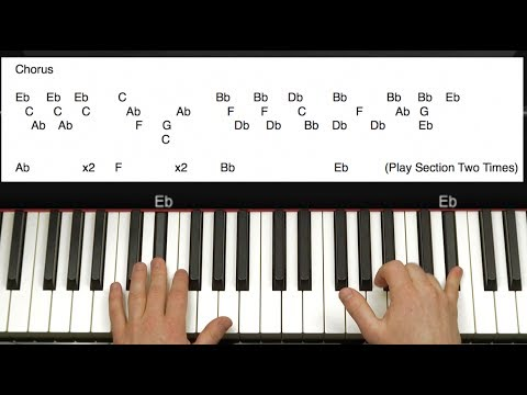 How to Play All of Me  John Legend on Piano