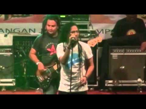 Steven Jam at Nestlite Reggae Movement Banjarmasin