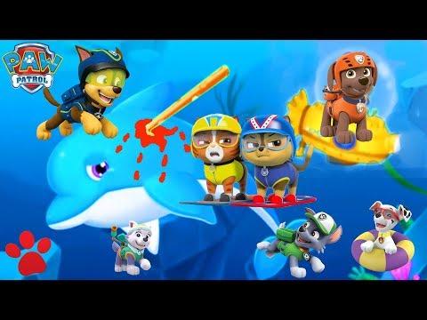 Paw Patrol Pups Save an ocean 2017 kids Cartoon movies
