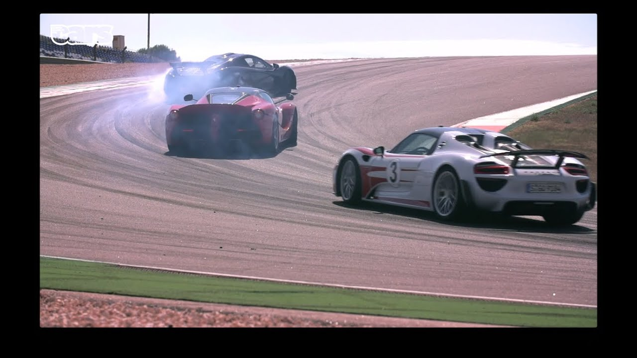 Chris Harris on Cars - LaFerrari v Porsche 918 v McLaren P1 at Portimao. Video Thumbnail