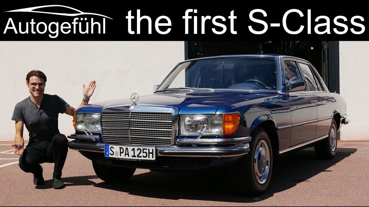 Mercedes w116. Настоящая классика.