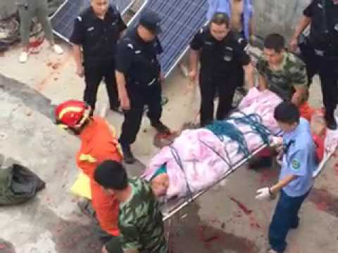 July 9th, 2017, China First Lady hometown Shandong governor beat up farmers for their property land