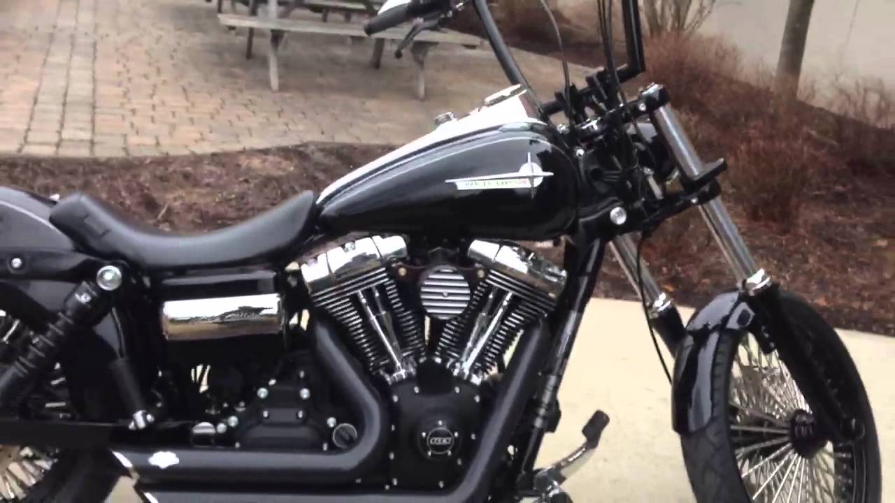 2012 wide Glide Custom - YouTube