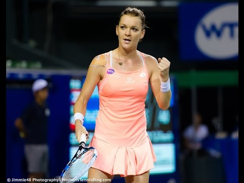 2016 Toray Pan Pacific Quarterfinals | Agnieszka Radwanska vs Monic Puig | WTA Highlights