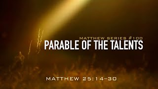 PARABLE OF THE TALENTS - 2.9.20 MESSAGE