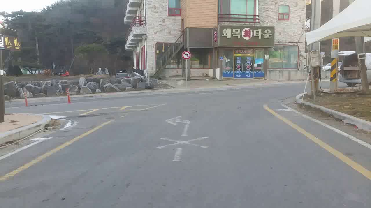 당진 왜목마을 내 교통법규 단속 구간 블랙박스영상신고 구간
