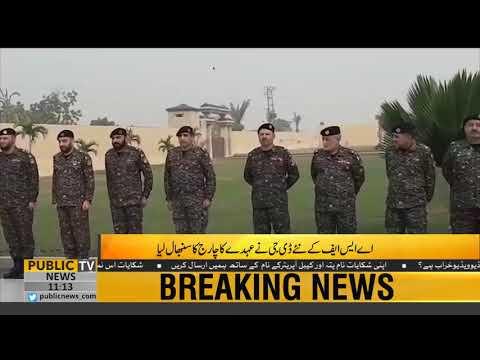 Major General Zafar Ul Haq takes charge as DG ASF   Public News