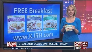 Freebie Friday: Free breakfast, $10 coupon, family scavenger hunt