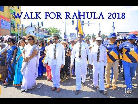 Rahula Blue & Gold Parade 2018 (Walk For Rahula)