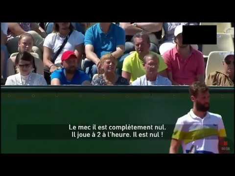 BENOÎT PAIRE S'ÉNERVE ET INSULTE TOMMY HAAS ! [ATP Monte-Carlo 2017]