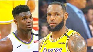 LeBron James Murders Zion Williamson & Entire Pelicans With Crazy 40 Points! Lakers vs Pelicans