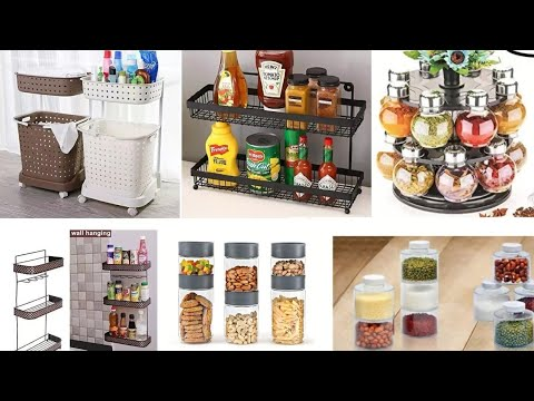 Useful Kitchen Organizers From Amazon|Small Kitchen Organization Ideas|zetajj