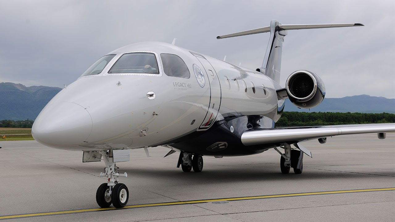 Embraer Enhances Legacy Runway Performance With 450 And