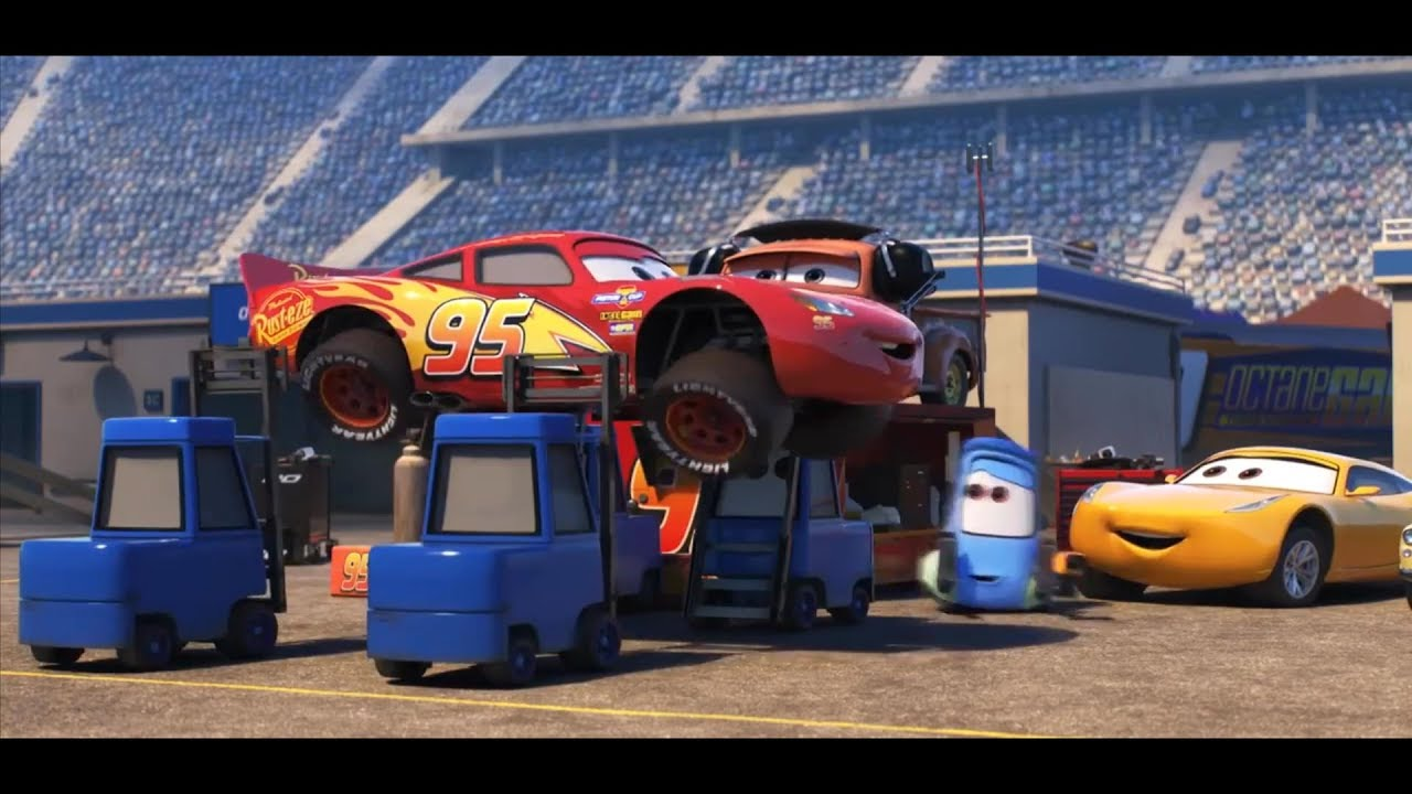 Cars Lightning Mcqueen And All Legend Skill Video