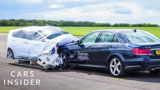 How This Dummy Car Helps Prevent Accidents