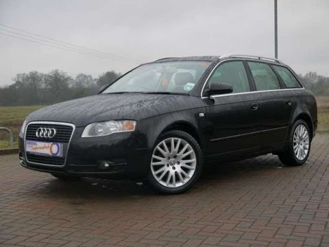 2007 audi a4 avant se 1 9tdi estate black for sale in. Black Bedroom Furniture Sets. Home Design Ideas
