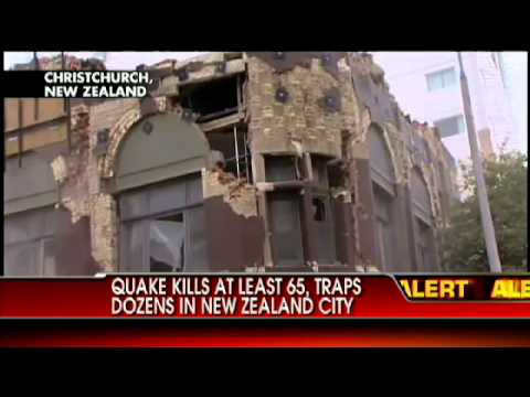 VIDEO: Quake Hits New Zealand, Over 65 Confirmed Dead