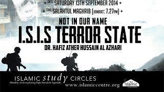I.S.I.S NOT IN OUR NAME