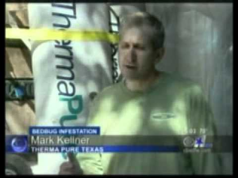 CBS DFW Show how ThermaPure Texas Exterminates Bed Bugs