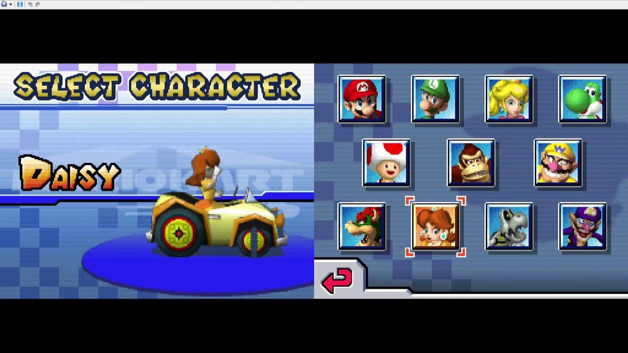 Mario Kart DS Walkthrough - 150cc Mirror Mode Mushroom Cup & Flower Cup #13