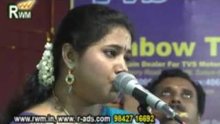 Kurai ondrum illai song by Airtel Super singer_dhanyasri_salem ayyapa asram Right win medias salem