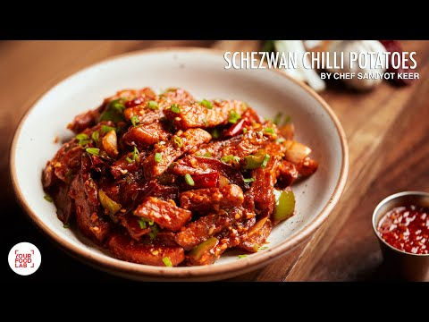 Schezwan Chilli Potato Recipe |Restaurant Style Recipe| Chef Sanjyot Keer