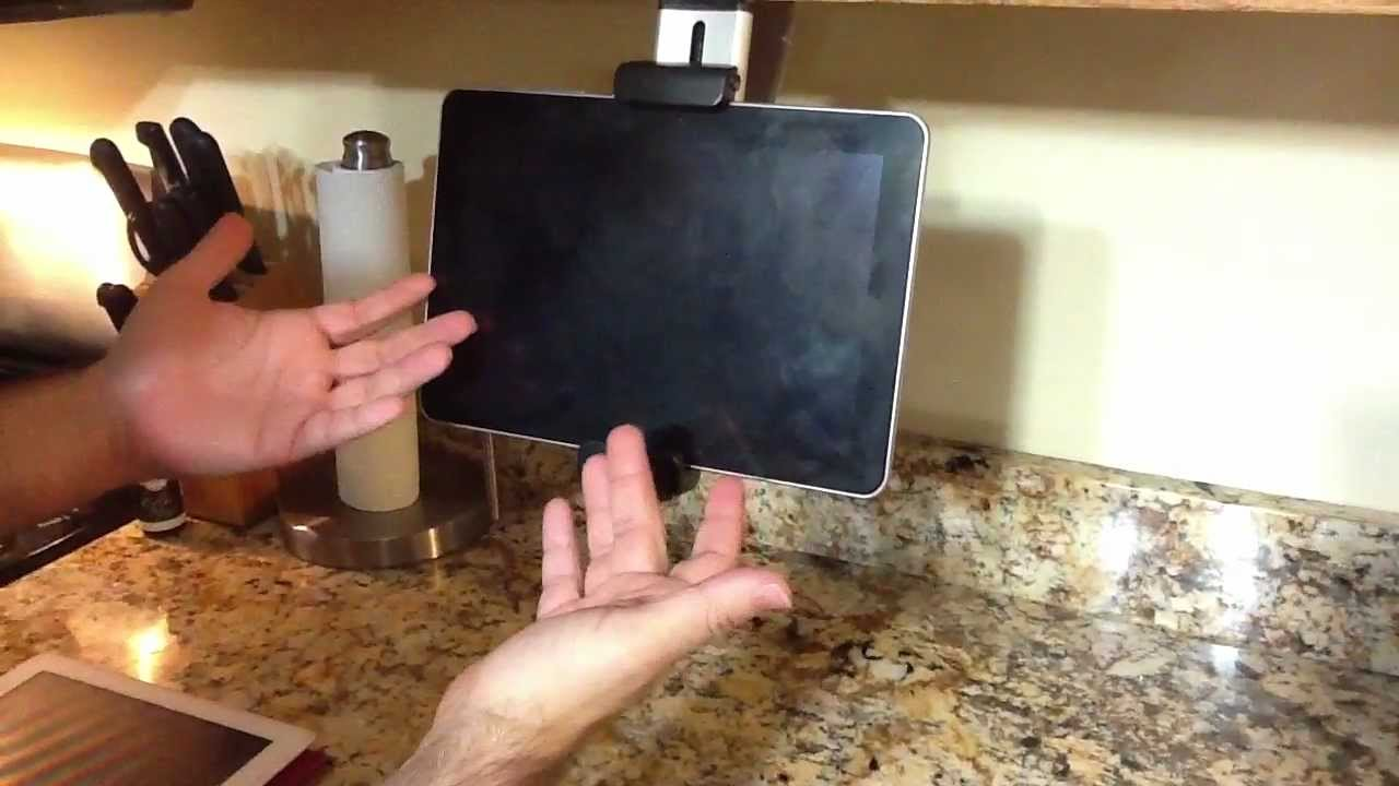 Review Of Belkin Tablet Kitchen Mount For The Ipad 2 Kindle Fire Nook You